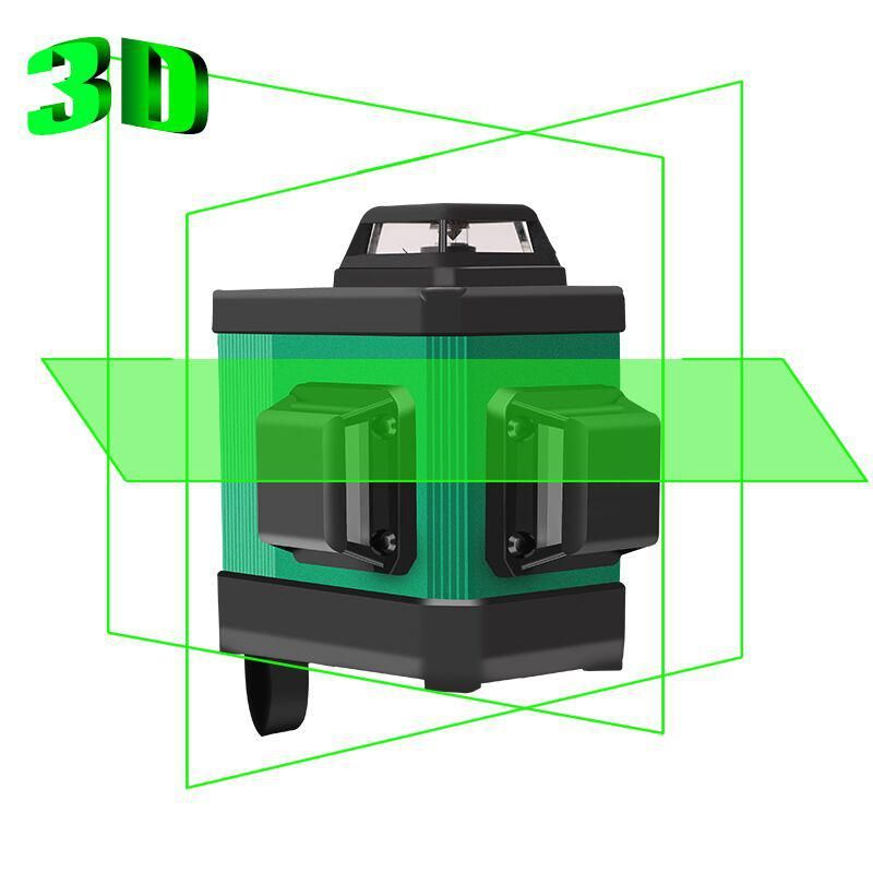Yepbi Nivel Laser 360 Autonivelante 12 Line Laser Level Self Leveling Vertical And Horizontal Cross 3d Green Construction Tools With Images Laser Levels Laser Horizontal Cross