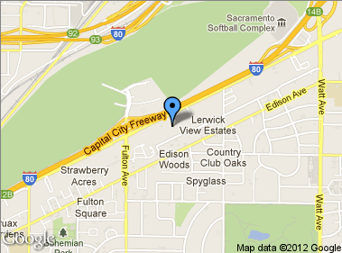 Here's our location. About Nissan of Sacramento New
