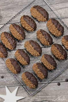 Photo of The darling's favorite – Viennese chocolate biscuits – Mar …