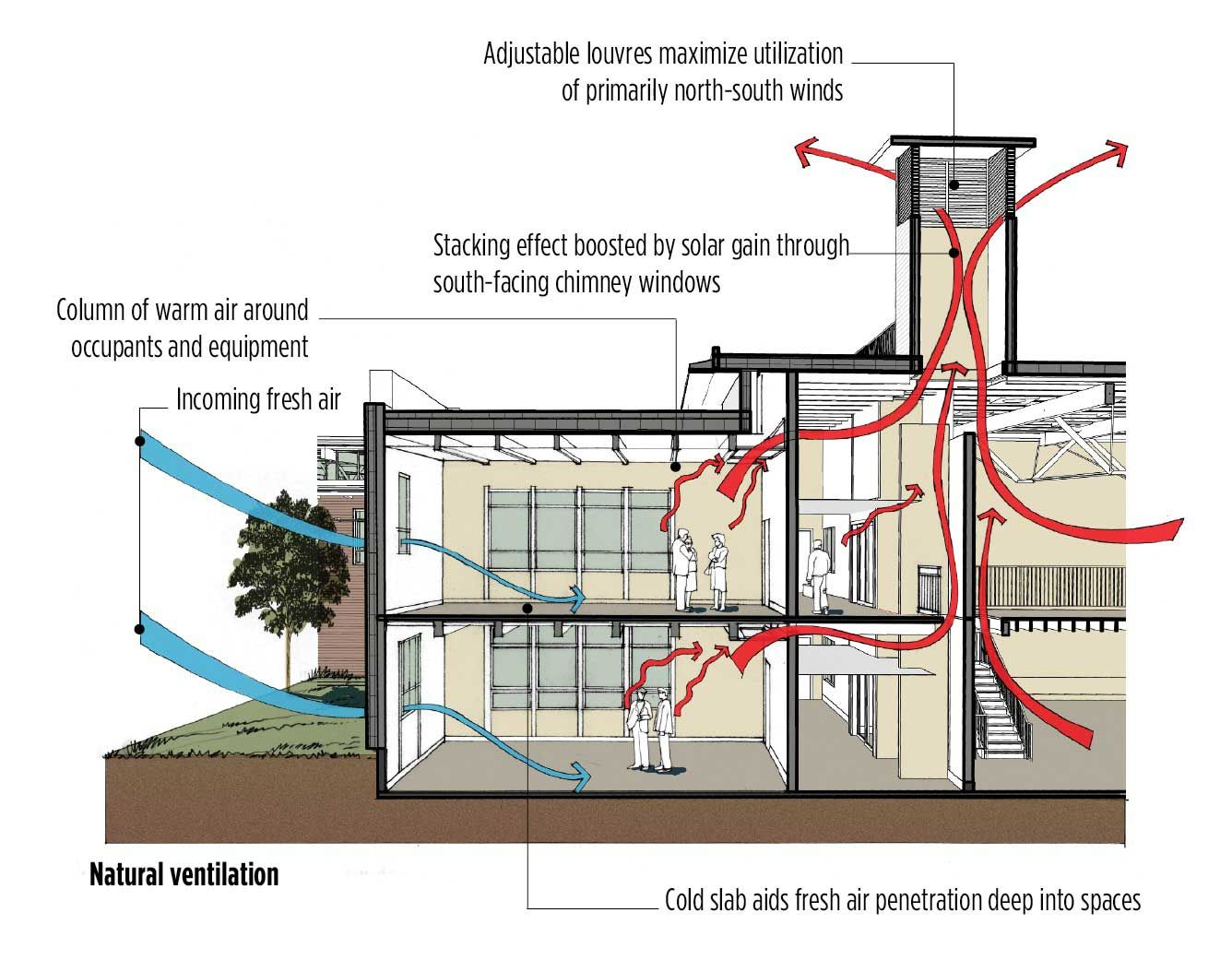 green thermal #ventilation and cross ventilation: two basic