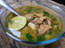 resep soto daging sapi spesial