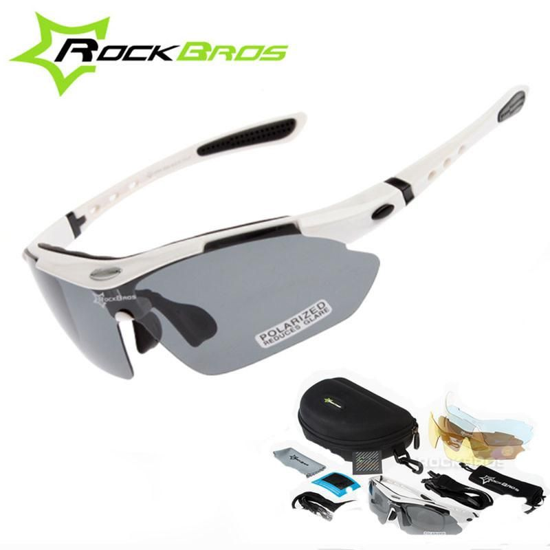 RockBros Bike Polarized Cycling Sunglasses Bike Goggles Outdoor Sports Glasses