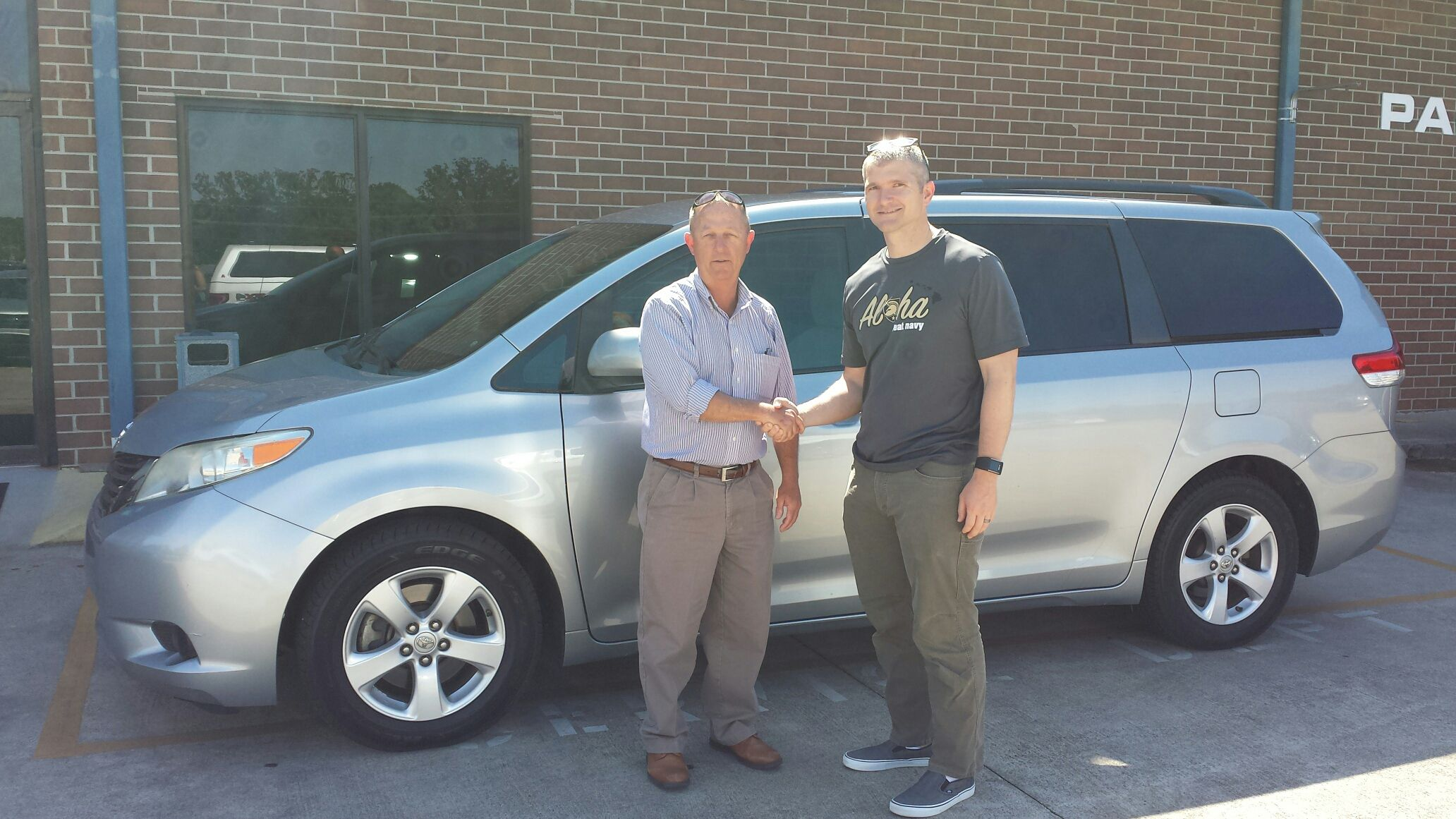 congratulations joe nussbaumer of sendai japan and dalton ga on your new 2011 toyota sienna sold by brian smith we appr ford news new and used cars car ford pinterest