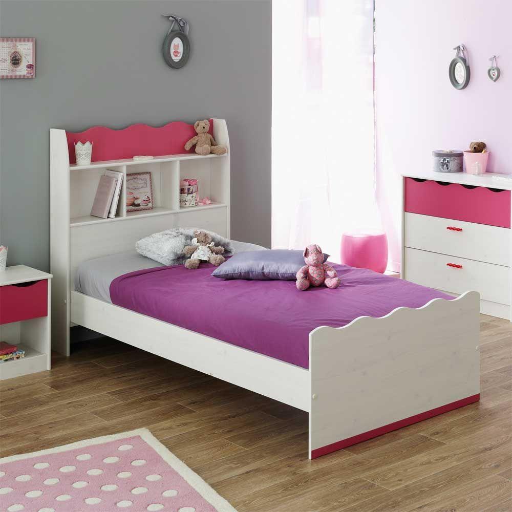 Erstaunlich Bett Kinderzimmer Referenz Von Mit Regal Im Kopfteil Für Kinder Jetzt