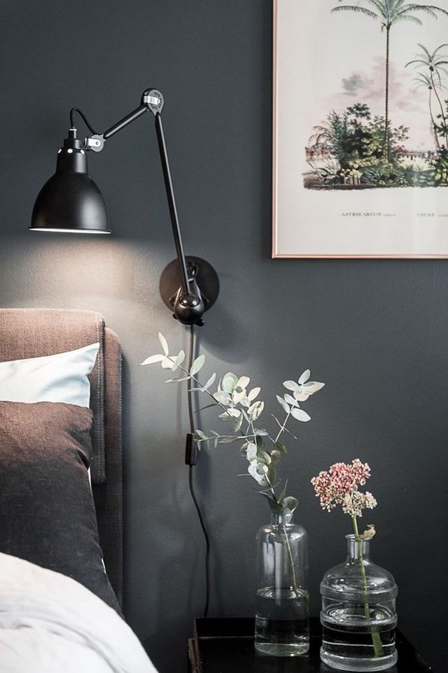 Carreaux De Ciment Découvrir L Endroit Du Décor Lámparas Para Dormitorio Apliques Pared Dormitorio Lamparas Dormitorio
