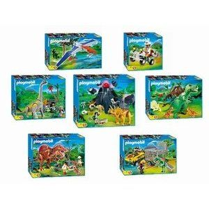 Playmobil dinosaur set for ellie barn pinterest - Dinosaur playmobile ...