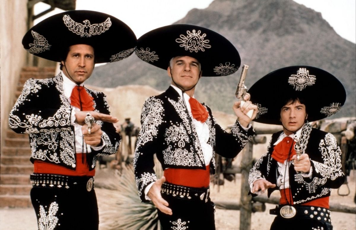 Chevy Chase Steve Martin And Martin Short As The Three Amigos