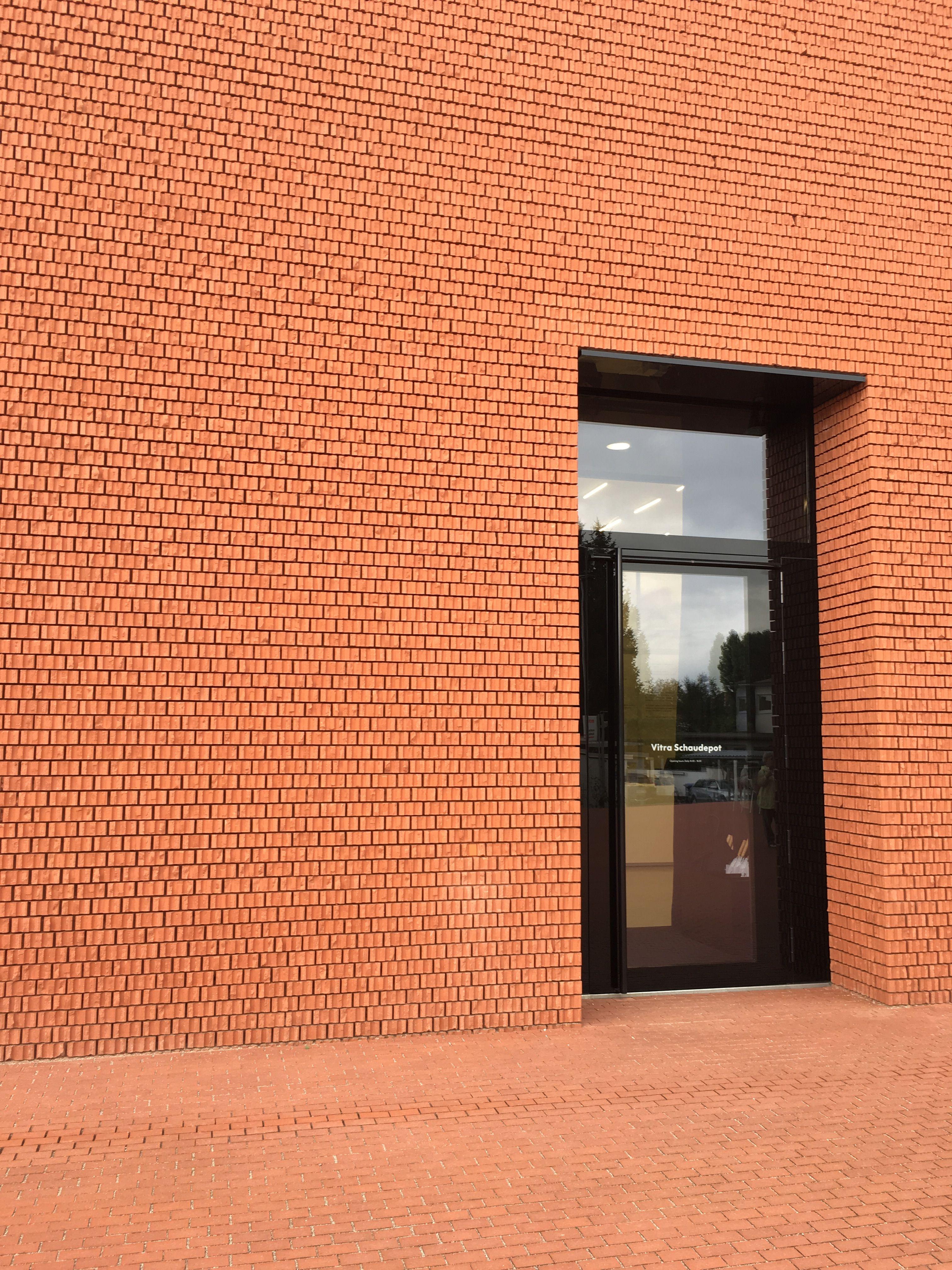 Vitra Schau Depot By Herzog Amp De Meuron Interesting Brick