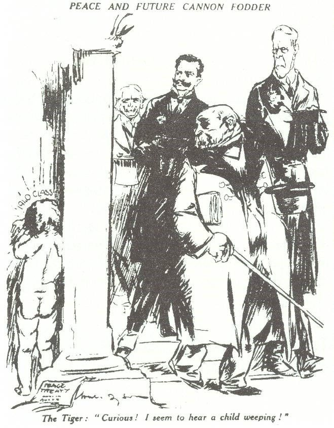 A Cartoon Drawn In 1920 By British Cartoonist Will Dyson After