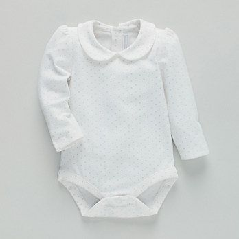 Peterpan Bodysuit By The Little White Company Baby Girl