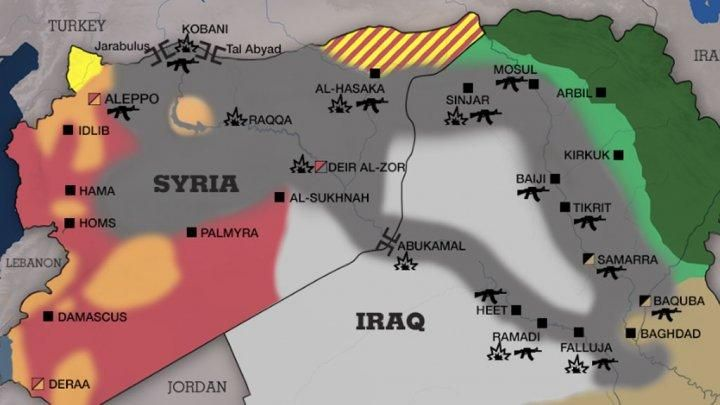 Beautiful Maps on | Middle east map, Map, Syria