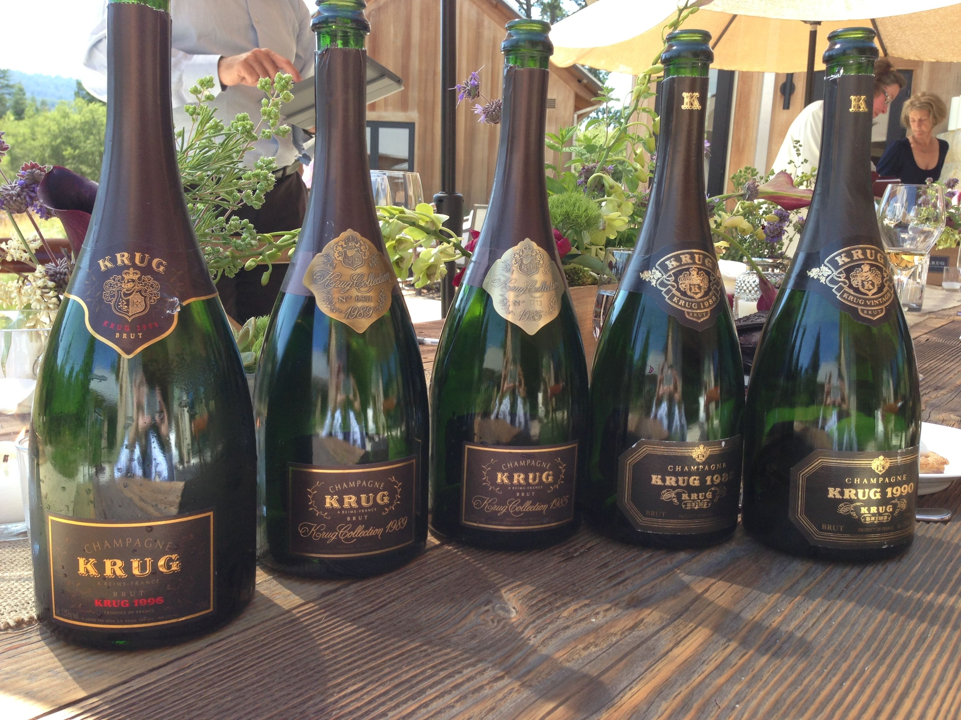 Krug Champagne Brut 1996 1998 1985 1988 1990 Champagne Krug Champagne Expensive Champagne