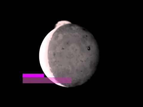 IO Eruption 2007,Erución volcánica en Ío tercera luna de júpiter
