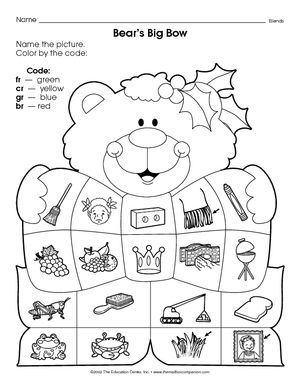 tons of free printable worksheets on consonant blends