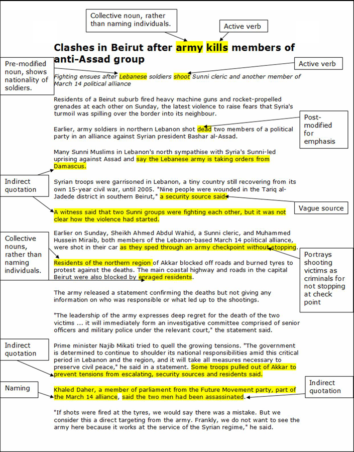 Example Research Critical Discourse Analysis  All About