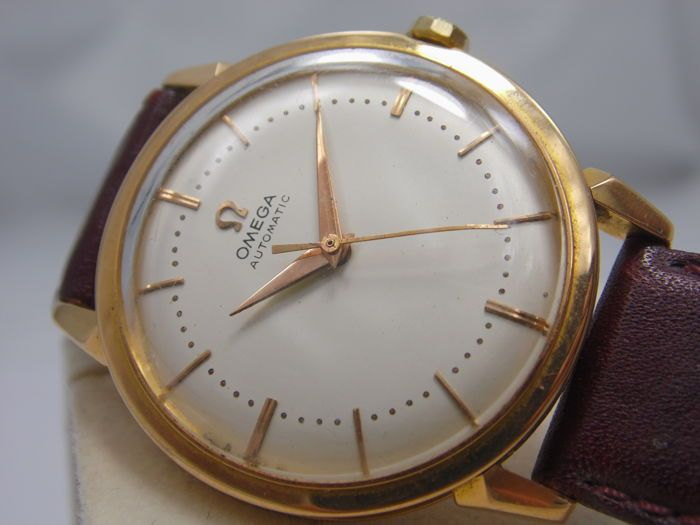 36d9cdffc10 OMEGA - Men s wristwatch in 18 kt yellow gold - Ref. 2868 sc - Year  1956 -  Catawiki