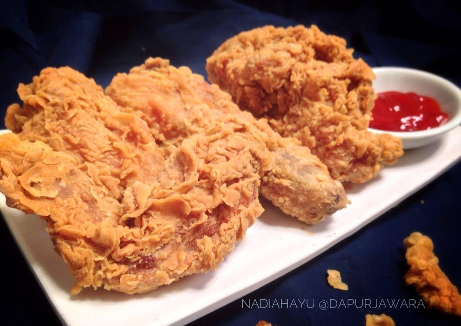Resep Jawara Fried Chicken Ayam Goreng Tepung Krispi Ala Dapur Jawara Oleh Nadia Hayu Resep Ayam Goreng Makanan Resep Masakan