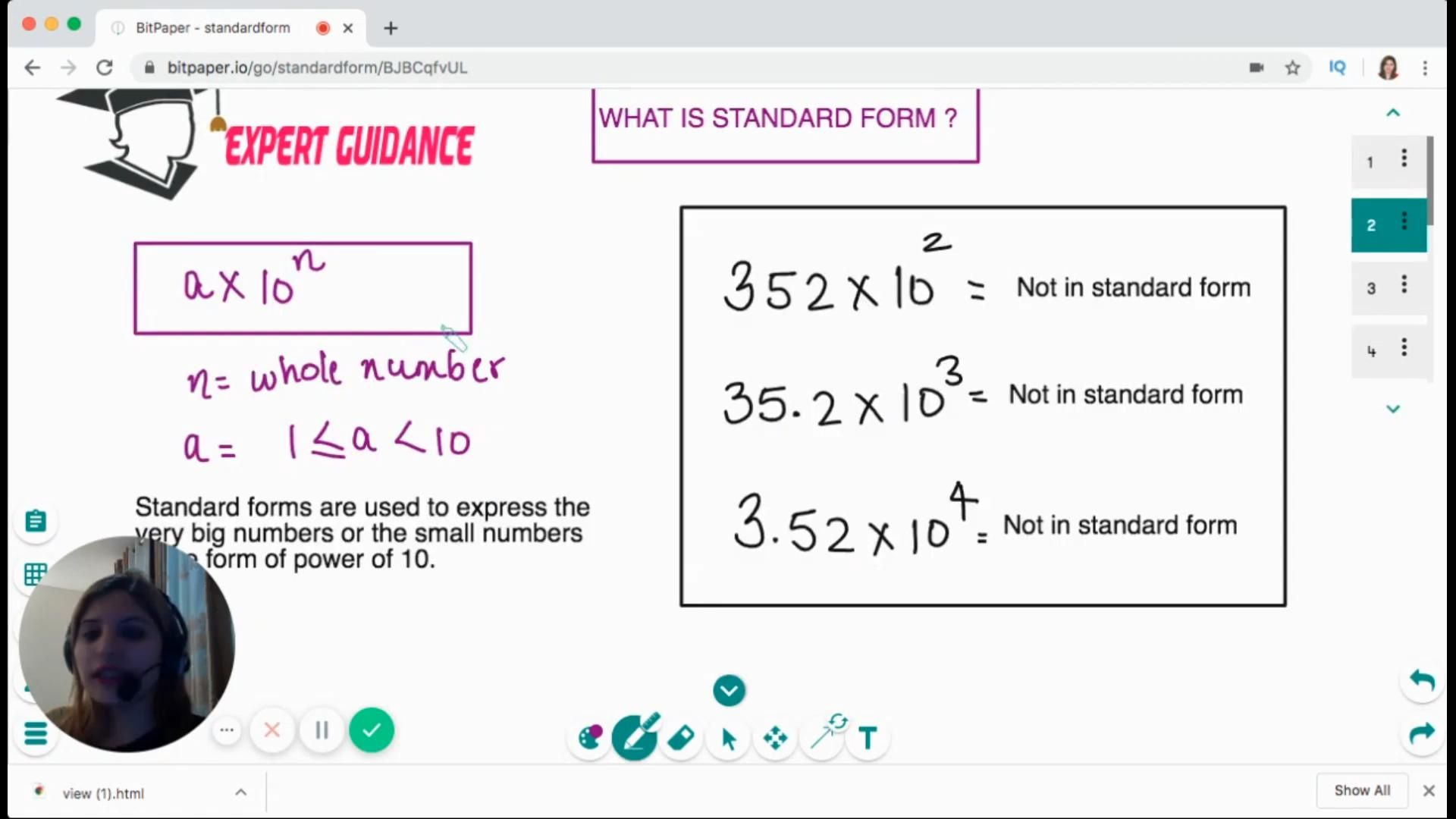 what is a topic by Expert Guidance by Mahima Laroyia  Online Maths and Science Tutor