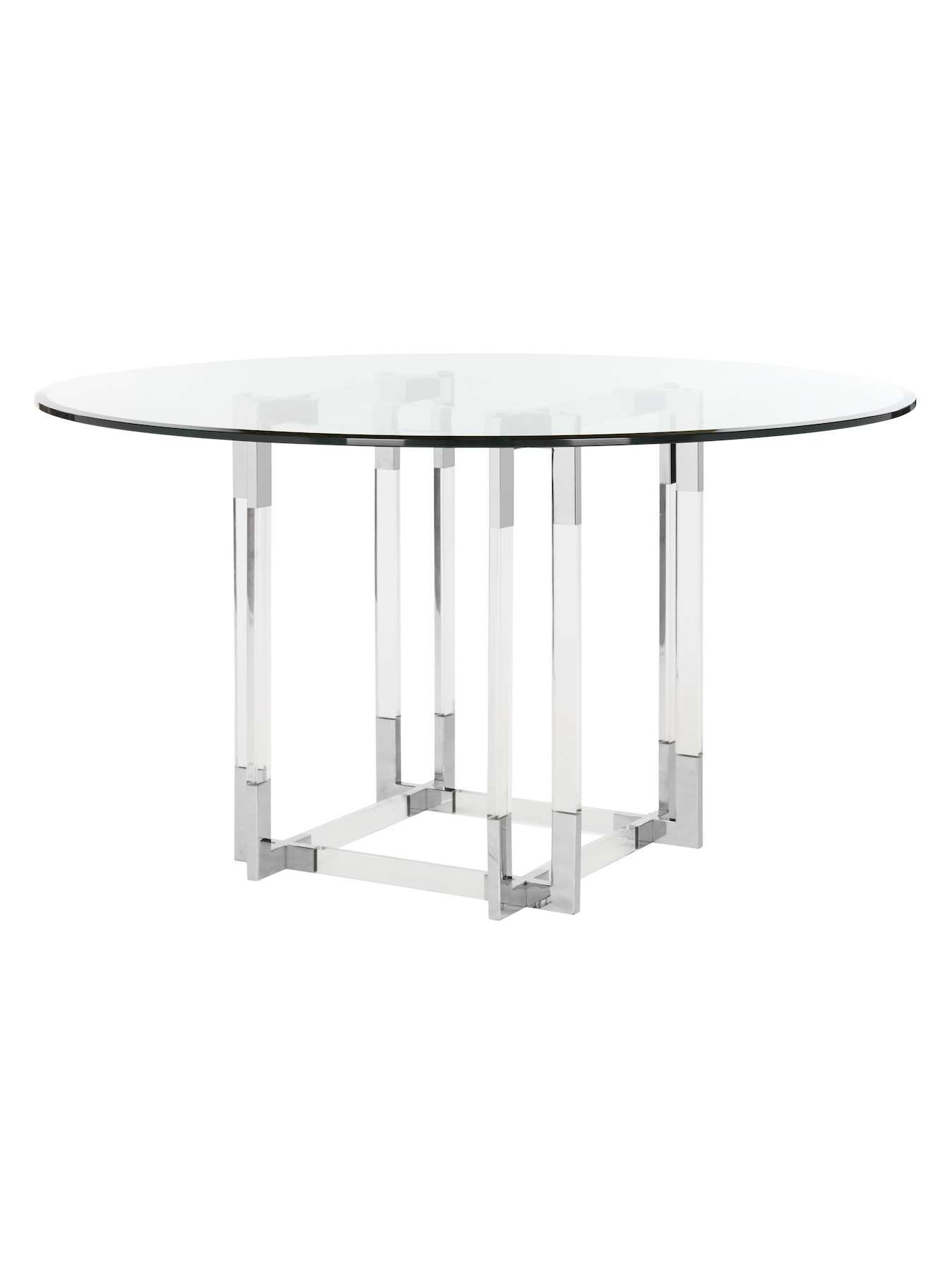 Koryn Dining Table By Safavieh Couture Chrome Gilt Dining