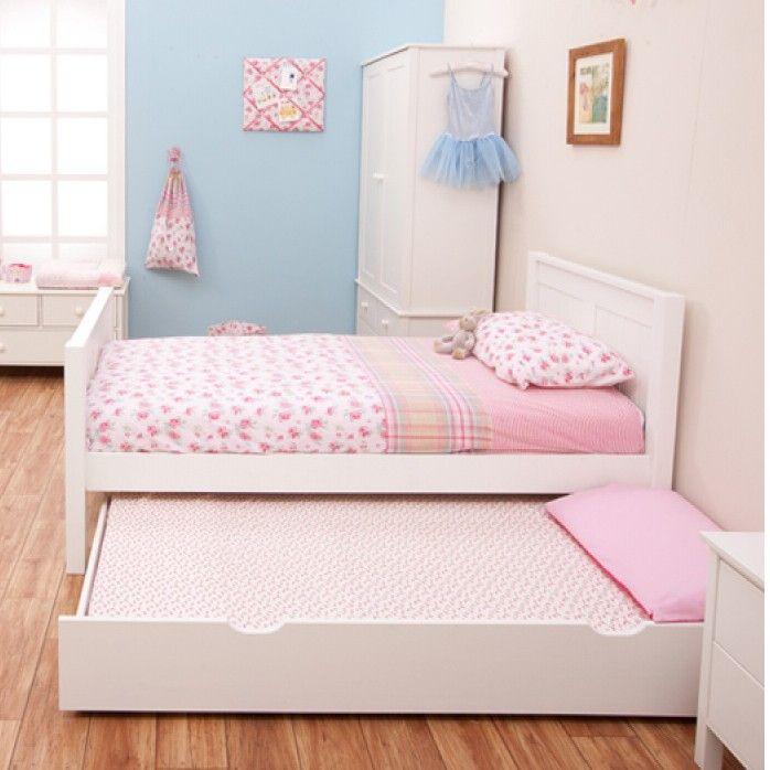 Stompa Classic Kids White Single Bed Decorar Habitacion Ninos
