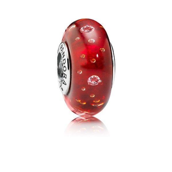 abalorio pandora red effervescence 791631cz - 35,00€ http://www.andorraqshop.es/joyeria/pandora-red-effervescence-791631cz.html