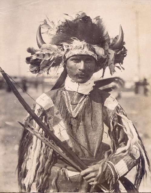 """""""Kickapoo Indian."""" Department of Anthropology, 1904 World's Fair. 