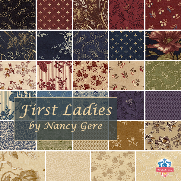 First Ladies by Nancy Gere for Windham Fabrics, now available at ... : first ladies quilt - Adamdwight.com