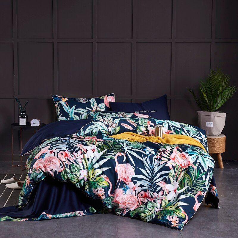 Ensemble De Lit Avec Plusieurs Dimensions Differentes Et Plusieurs Coloris Aliexpress Bedding Sets Fitted Bed Sheets Duvet Cover Sets