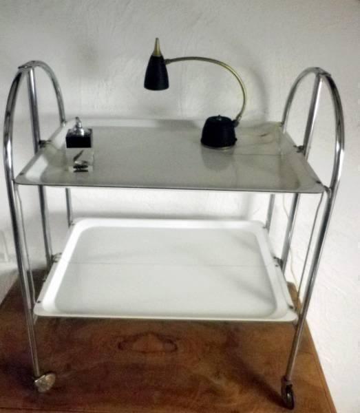 60 70 Er Dinett Tee Servierwagen Table Roulante Weiss In Wolfhausen Von Slowfox01 Kaufen Bei Ricardo Ch 60er Servierwagen 70er