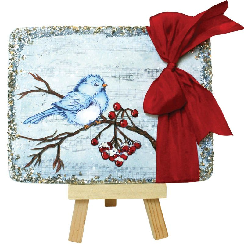 stampendous snow bird stamp - Google Search