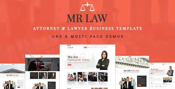 Download Free Mrlaw Attorney Lawyer Business Template