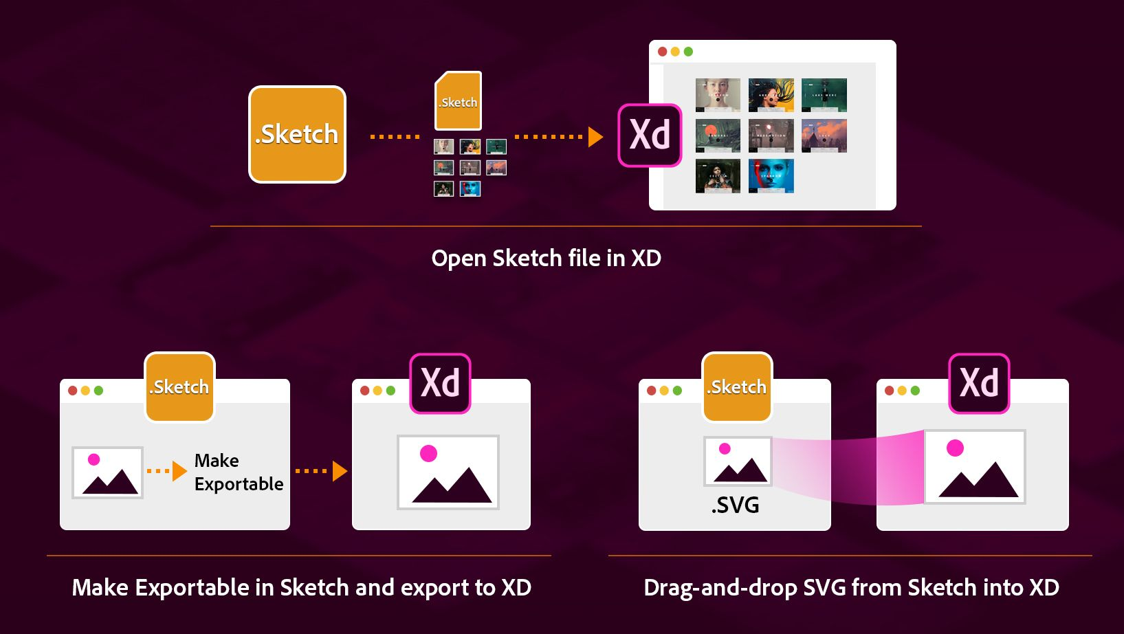 Multiple Ways Of Bringing Sketch Assets Into Xd Asset Adobe Xd