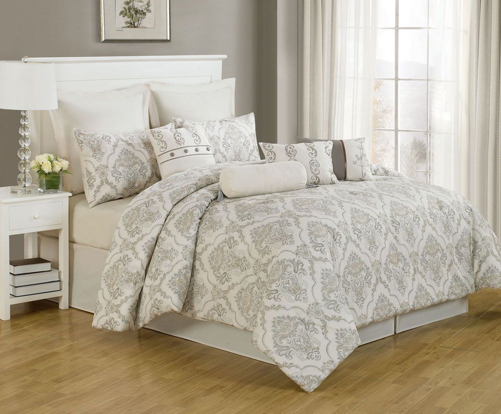 14 Piece Cal King Folsom 100 Cotton Bed in a Bag w500TC Cotton Sheet Set  Home  Pinterest
