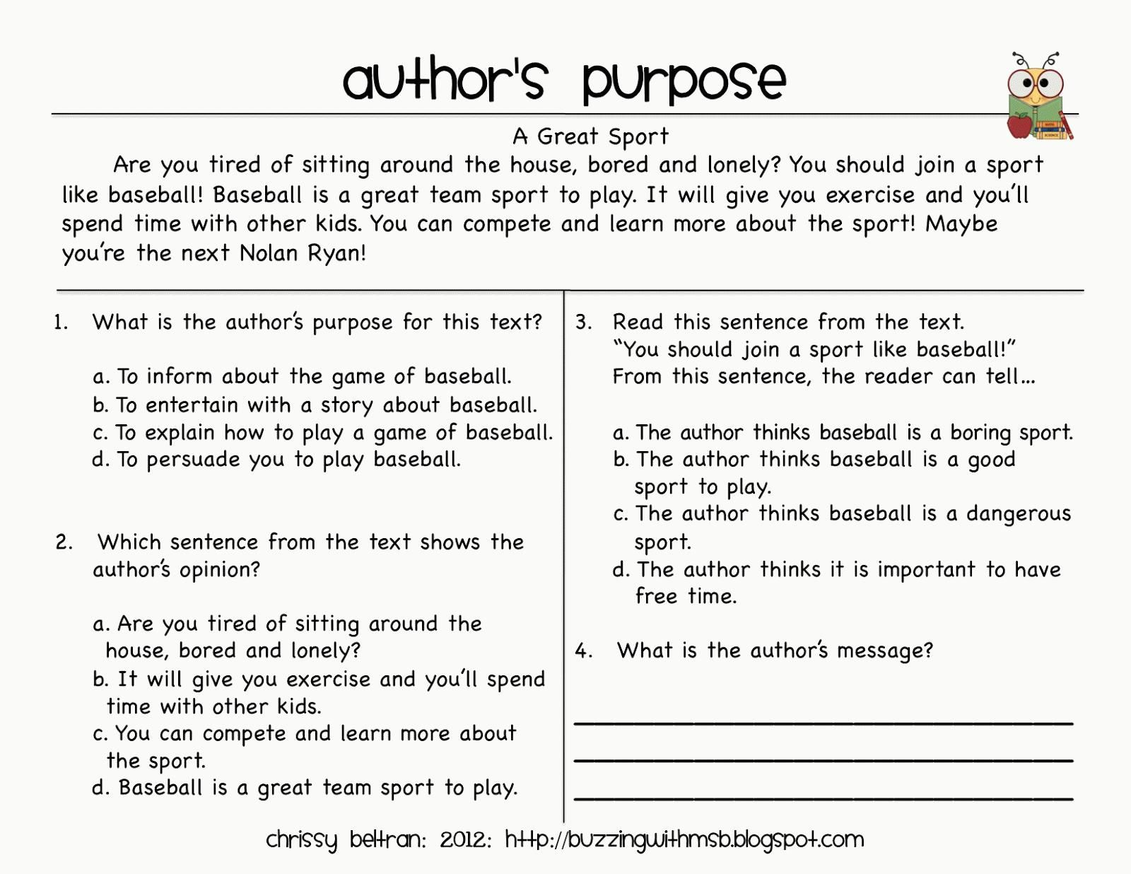 10 Third Grade Reading Practice Worksheets In