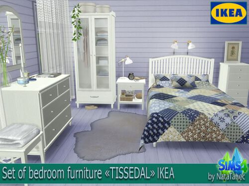 Ikea Bedroom Set By Natatanec For The Sims 4