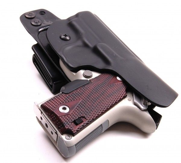 Custom Fit Two For One | Two holster options for the Kimber
