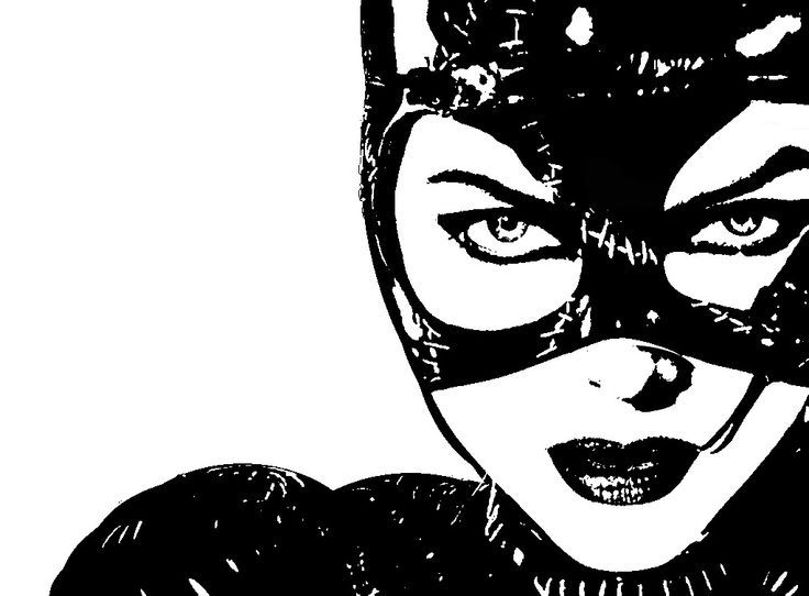 Catwoman Stencils On Stencil Revolution With Images Catwoman