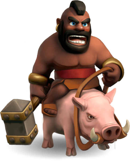 Clash Of Clans Hog Rider Clash Of Clans Coc Clash Of Clans Clas Of Clan