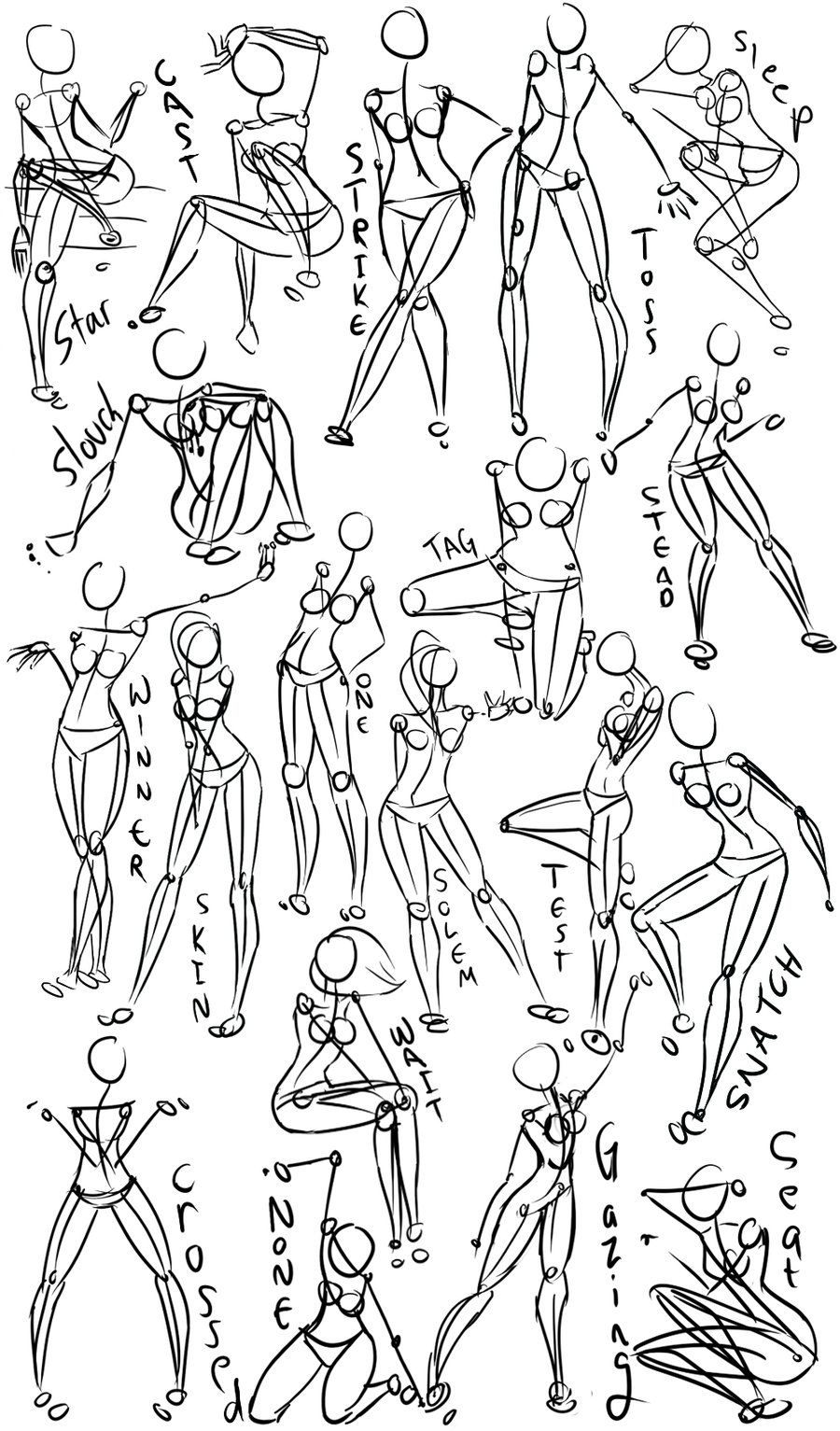Pin by Mar Rodriguez on Anatomy/Poses | Pinterest | Female power ...