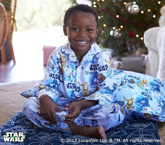 Star Wars A New Hope Flannel Pajama Pottery Barn Kids