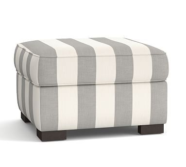 Townsend Roll Arm Upholstered Ottoman Polyester Wrapped