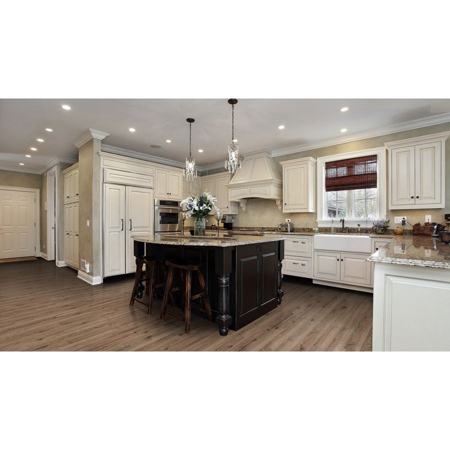 Lowes Kitchen Designer: Shop Allen + Roth 4.96-in W X 4.23-ft L Driftwood Oak
