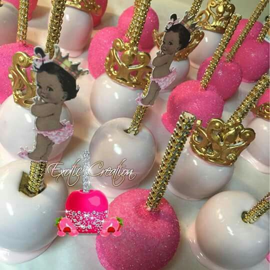 Candy Apples Cute For My Princess Theme Shower Or For A Boy Have