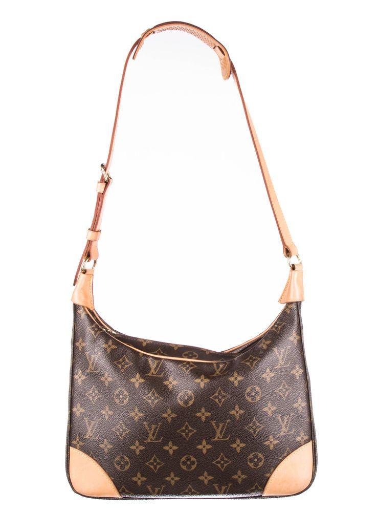24817f02047 LOUIS VUITTON Brown Monogram Canvas Boulogne 30 Bag  fashion  clothing   shoes  accessories  womensbagshandbags (ebay link)