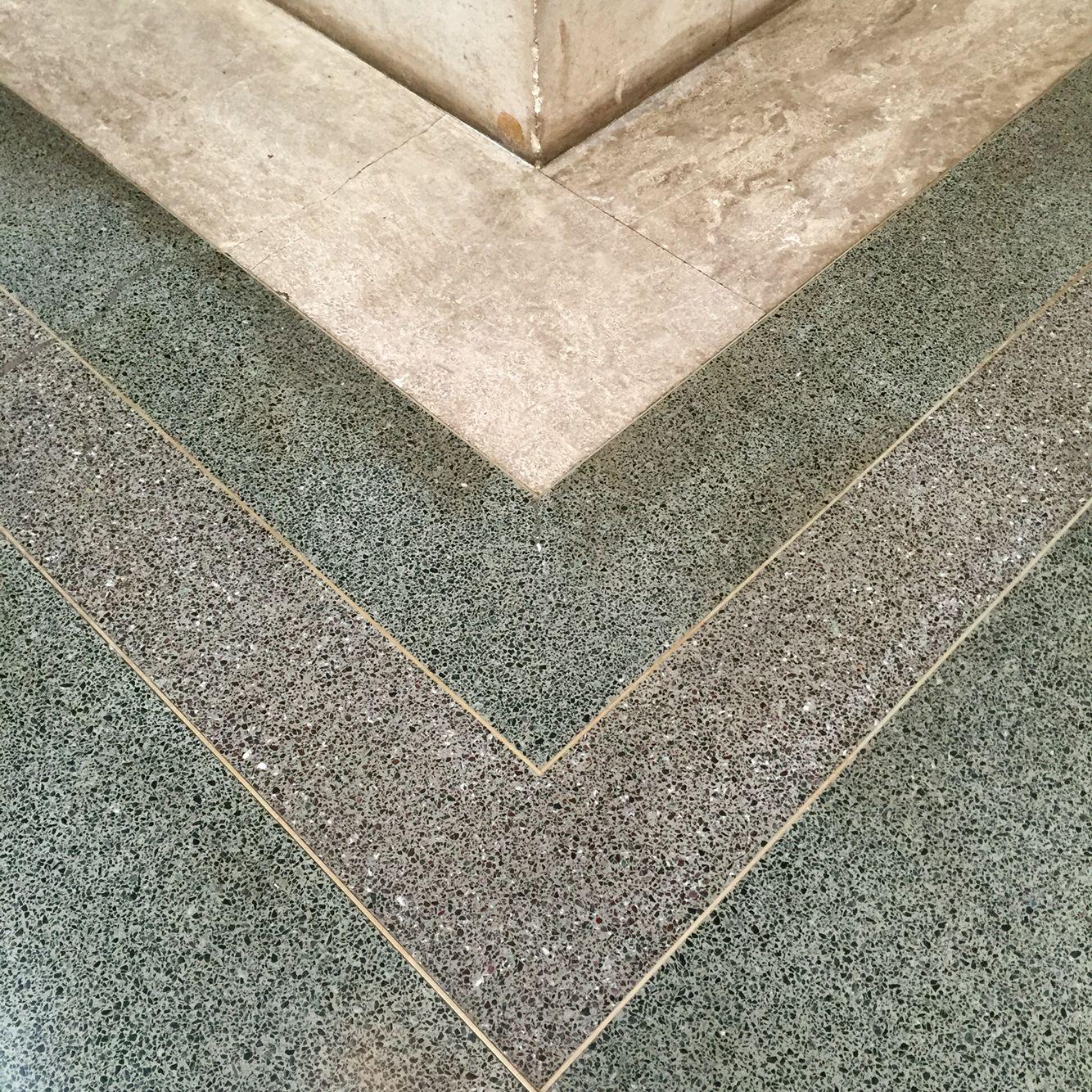 Tate Britain Terrazzo Floor