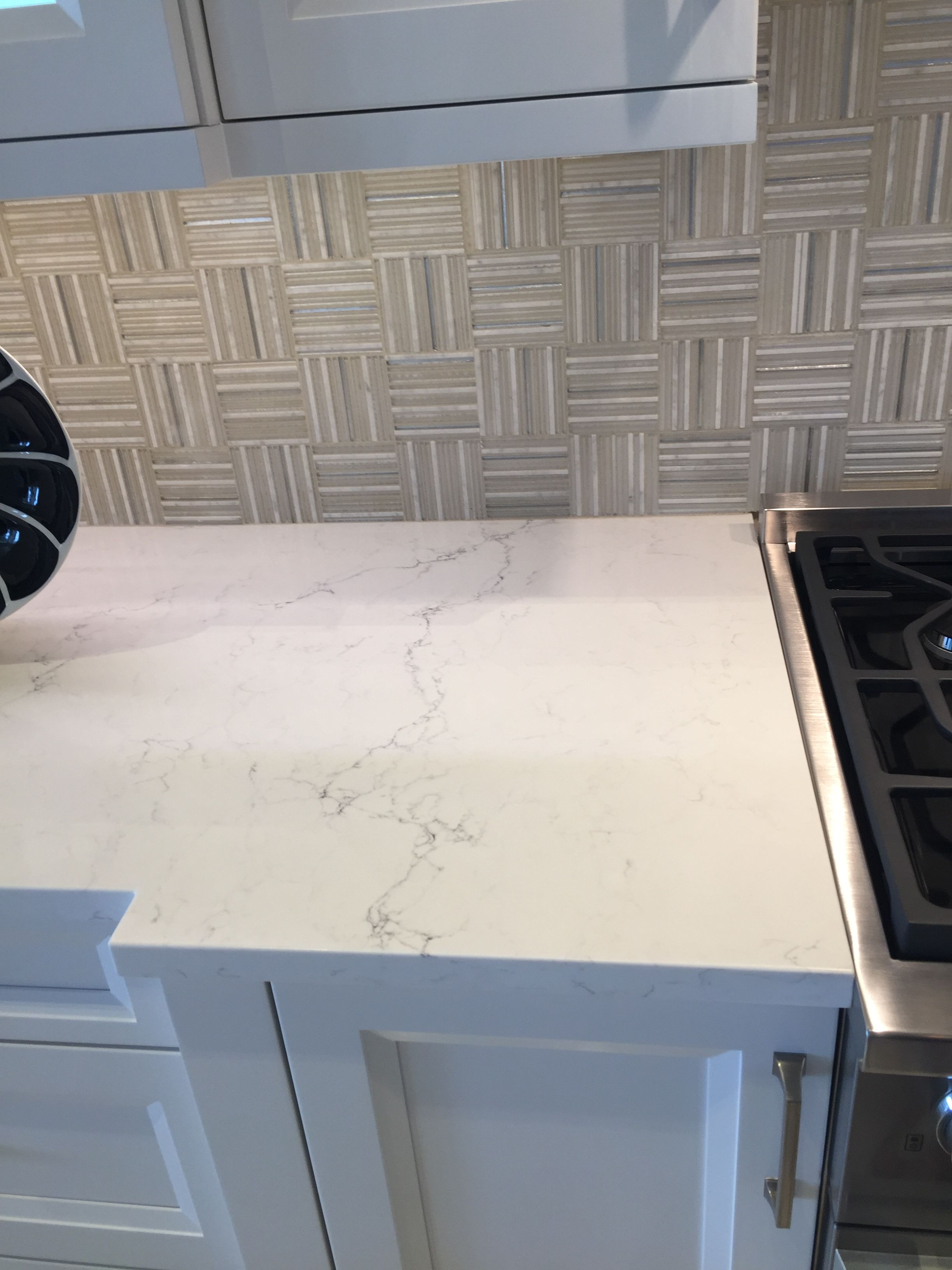 Pretty Quartz Countertop Called Pompeii Misterio Quartz