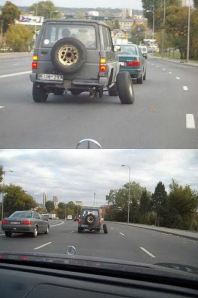 Vtipné opravy aut - 7