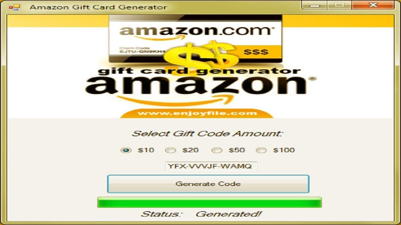 Amazon Gift Card Generator 2017 Amazon Gift Card Free Gift Card