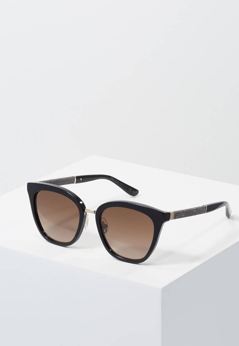 Jimmy Choo Fabry Cat Eye Sunglasses, 53mm In Black | ModeSens
