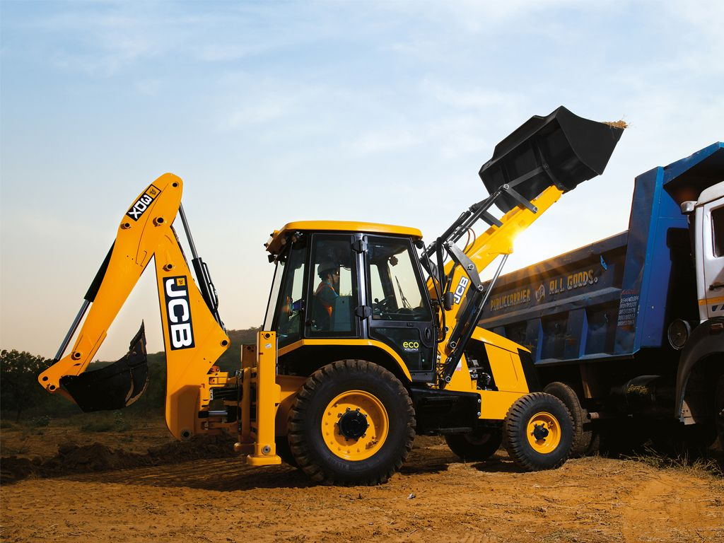 JCB Wallpapers, 3DX HD Images, JCB Machine Photos - JCB India